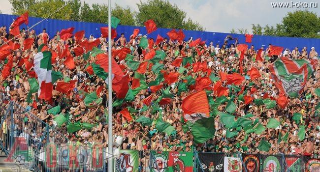 ФК Волга Нижний Новгород - ФК Локомотив Москва  0-14
