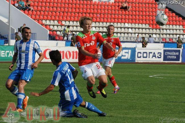 ФК Волга Нижний Новгород - ФК Локомотив Москва  0-12