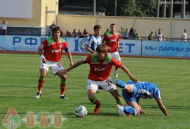 ФК Волга Нижний Новгород - ФК Локомотив Москва  0-10
