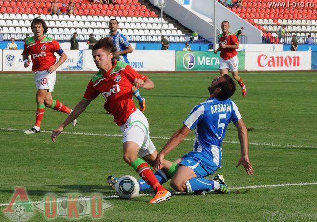 ФК Волга Нижний Новгород - ФК Локомотив Москва  0-7