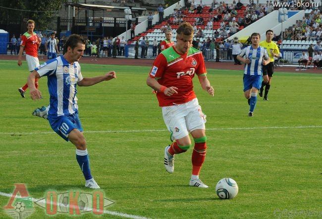 ФК Волга Нижний Новгород - ФК Локомотив Москва  0-0