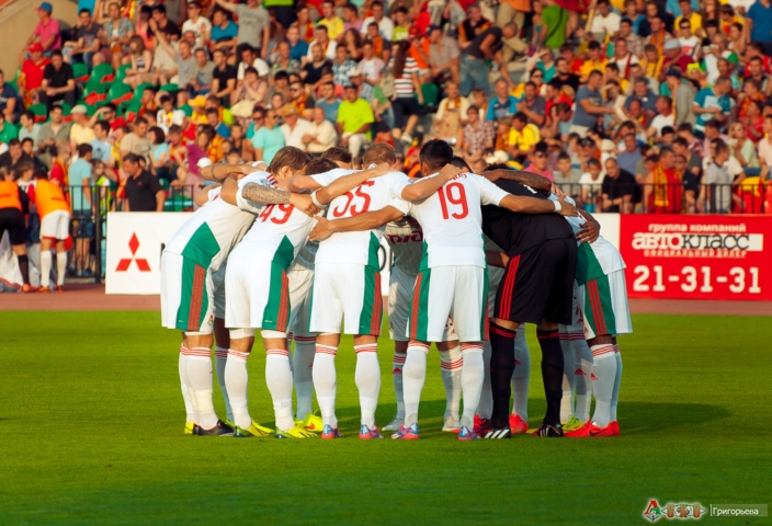 ПФК Арсенал - ФК Локомотив 0-2