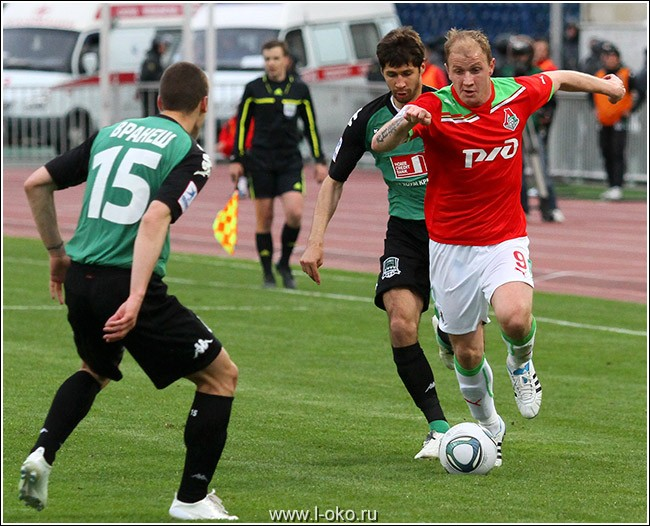 ФК Краснодар - ФК Локомотив 1-4