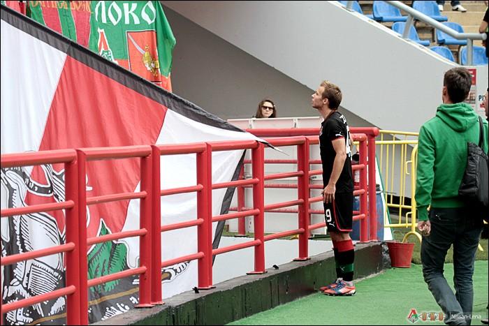 Фото с матча Локомотив  - Динамо 2 - 3