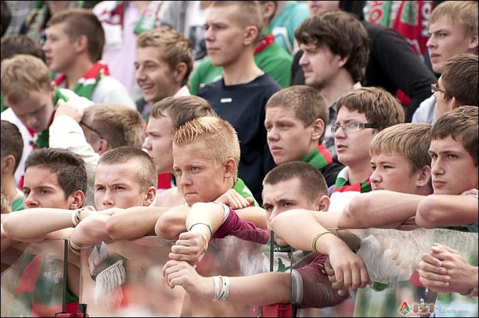 Фото с матча Локомотив - Динамо 2-3