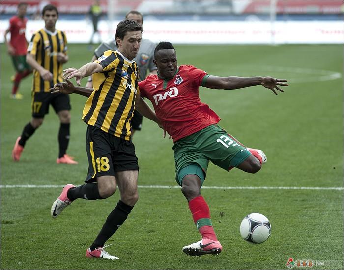 Фото с матча Локомотив -  Алания 2-2