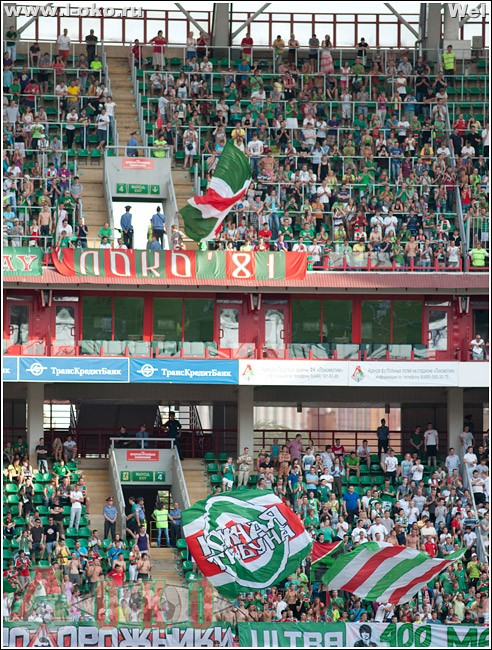 ФК Локомотив Москва - ФК Амкар 4-0