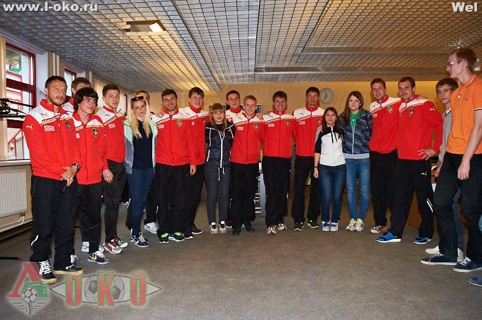 Фото со встречи болельщиков с Локо-2