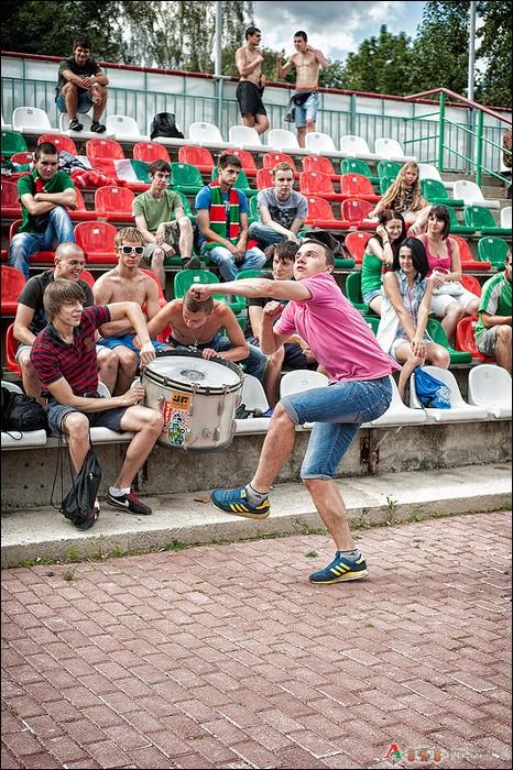 Фото с матча Локомотив 2 - Долгопрудный