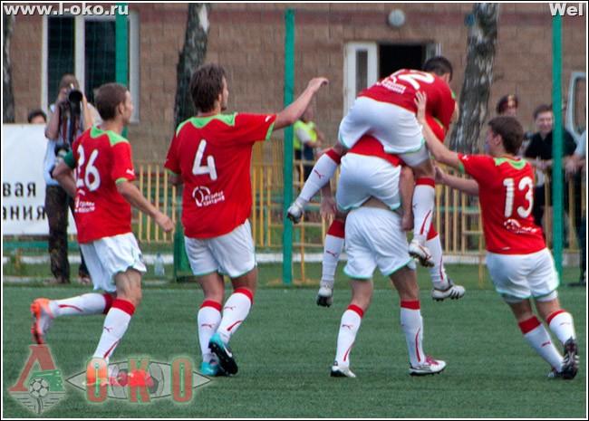 Локомотив-2 - Сатурн-2  3-2 (0-2)