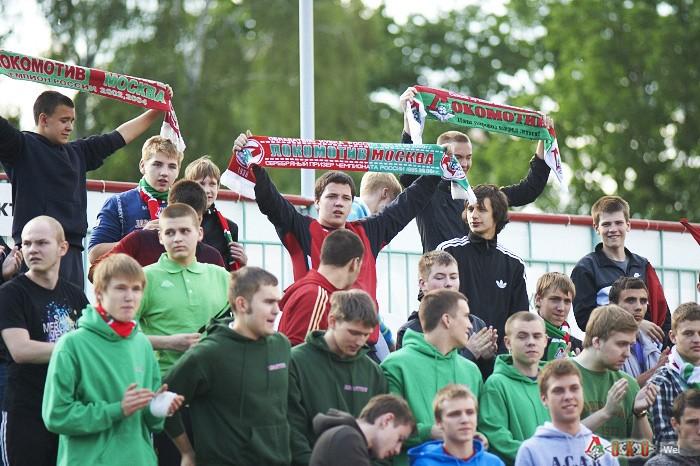 Фото с матча Локомотив-2 - Знамя Труда