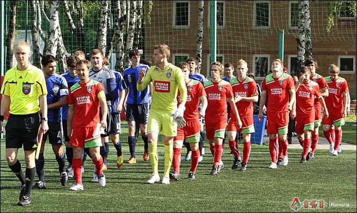 Фото с матча Локомотив-2 - Сатурн-2