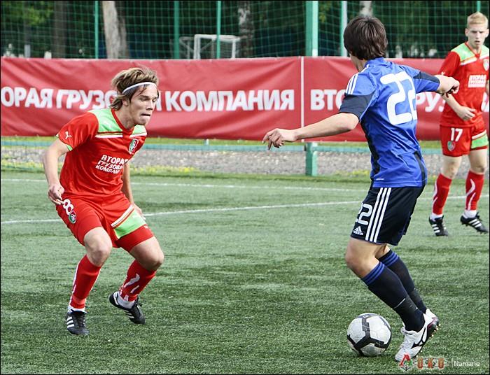 Фото с матча Локомотив-2 - Сатурн-12