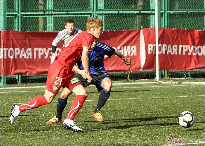 Фото с матча Локомотив-2 - Сатурн-16