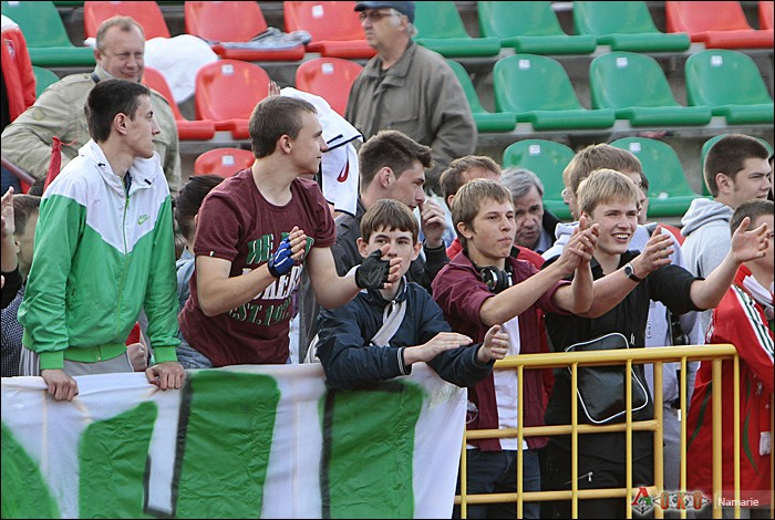 Фото с матча Локомотив-2 - Сатурн-32