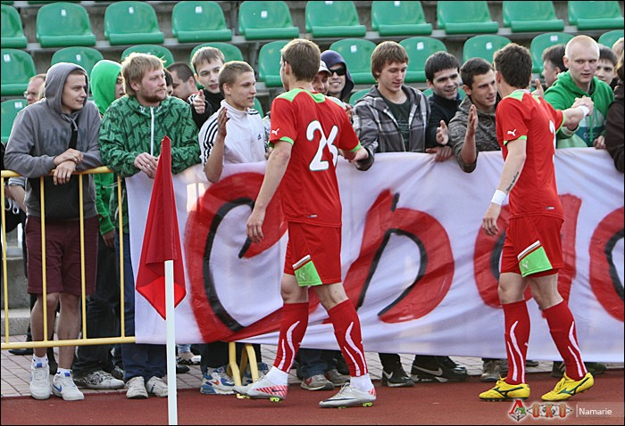 Фото с матча Локомотив-2 - Сатурн-35