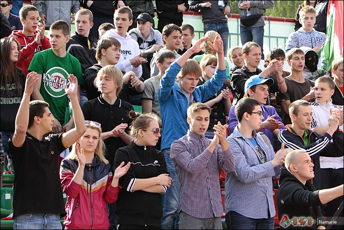 Фото с матча Локомотив-2 - Сатурн-8
