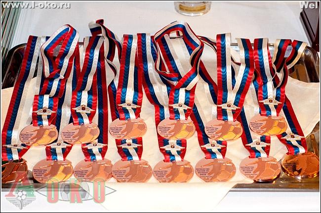 Церемония вручения бронзовых медалей Локо-2