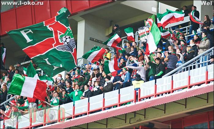 Фото с матча Локомотив - Анжи