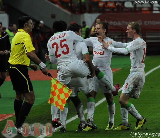 ФК Локомотив Москва - ФК Рубин 1-1