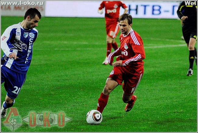 ФК Локомотив  - ФК Сибирь 1:1