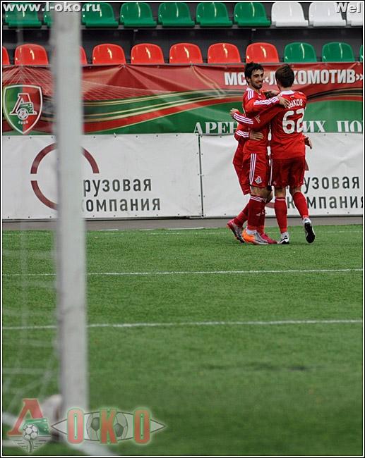 ФК Локомотив (мс) - ФК Сибирь (мс)  6:2