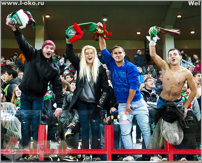 Локомотив Москва - Томь Томск 3-0