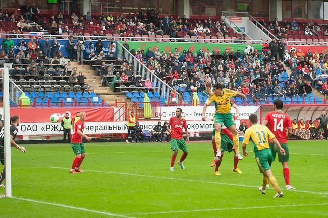 Фото с матча Локомотив - Кубань