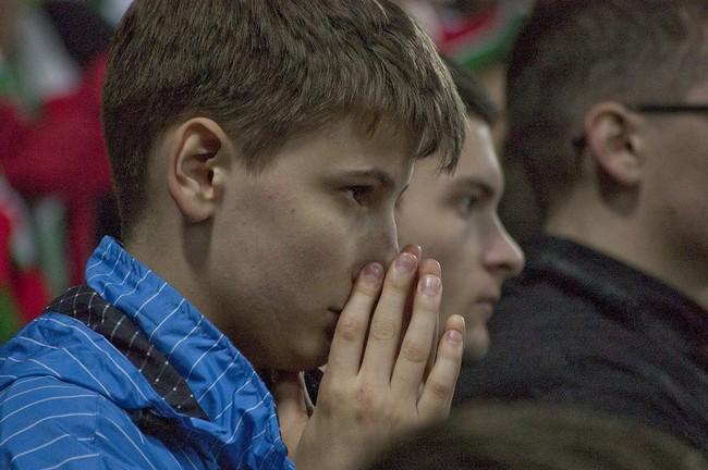 Фотографии трибун. Матч Локомотив-Рубин