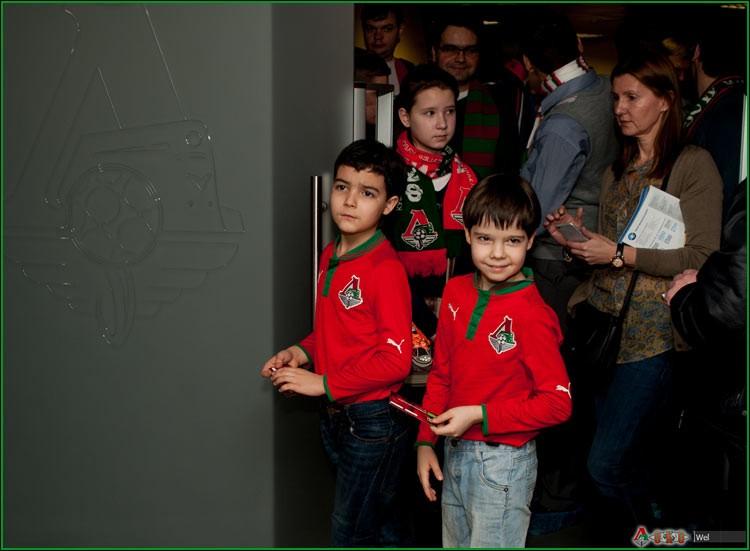 В музее ФК Локомотив с Нигматулиным