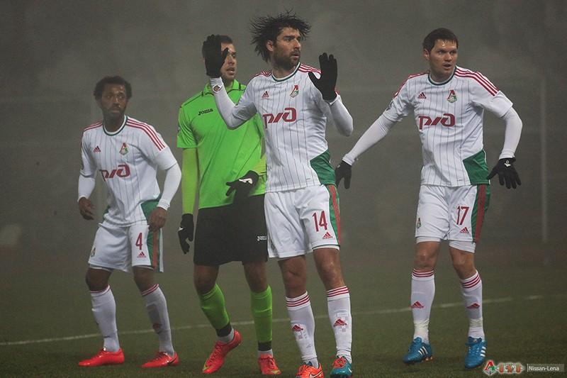 ФК Уфа - ФК Локомотив 0-1