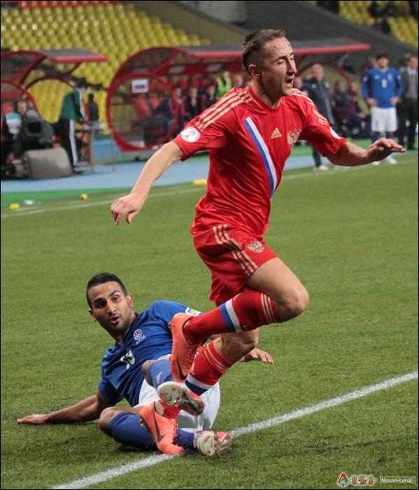 Отборочные матчи сборной России