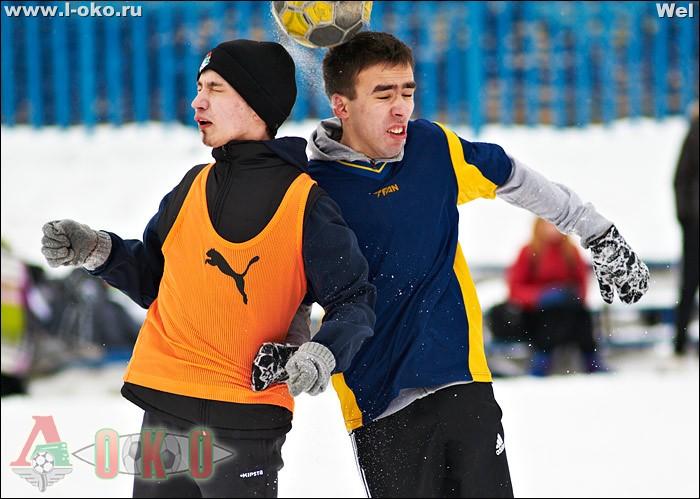 Переходной матч 3 зимнего чемпионата болельщиков Норд Ист Юнайтед - ПСП 2-7