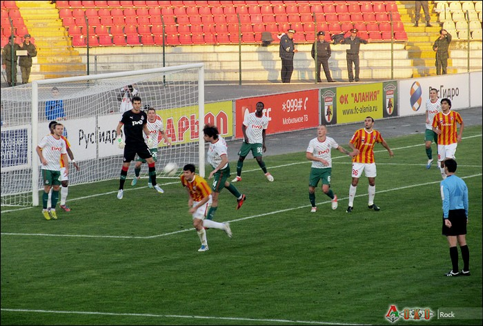Алания - Локомотив 0-1