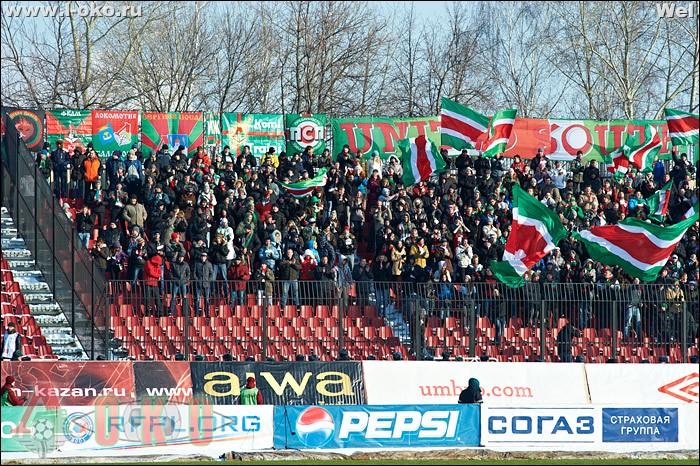 Рубин Казань - Локомотив Москва 0-0