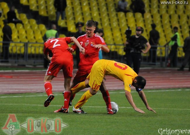 Сборная России - сборная Македонии 1-0