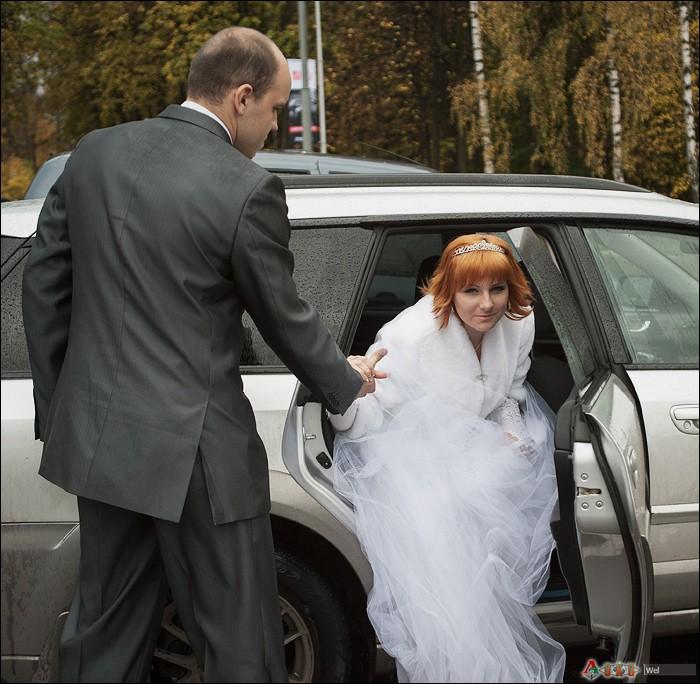 Свадьба на стадионе