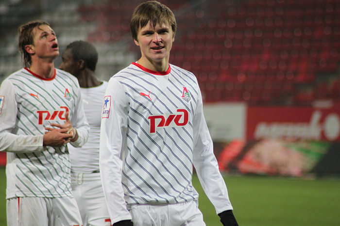 Фото с матча Локомотив - Краснодар
