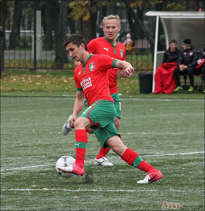 Фото с матча  Локомотив-2   - Вологда   0-1