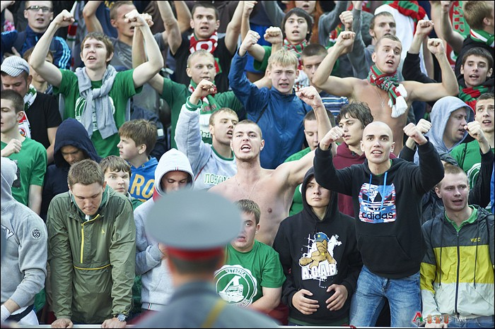 Фото с матча Мордовия - Локомотив 2-3
