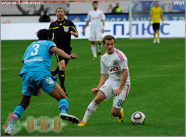 Локомотив - Зенит 0-3