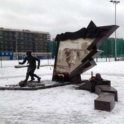 Стадион Динамо в Санкт-Петербурге (Ленинграде)