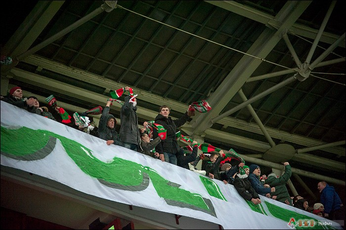 Локомотив-Краснодар 3-2. Матч 24 ноября 2012 года