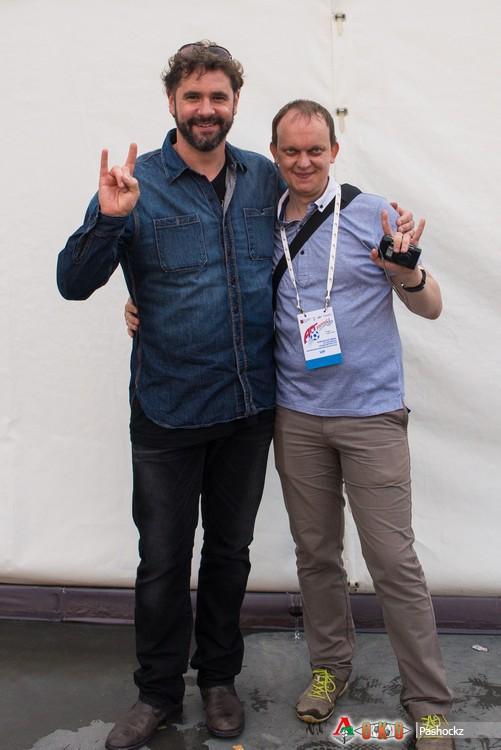 Линтон Осборн — новый вокалист Nazareth — и я